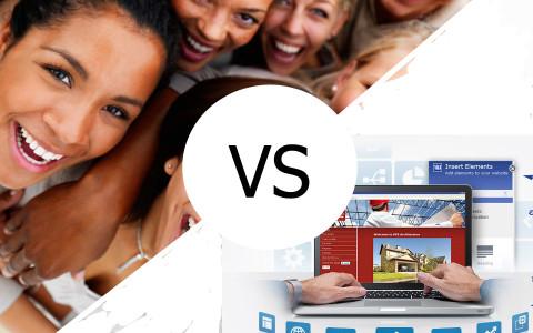 Социальная сеть или собственный сайт, что выбрать?